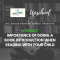 Literacy: Importance of Doing a Book Introduction When Reading with Your Child