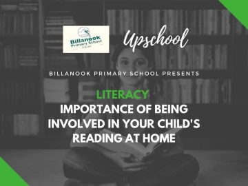 Literacy: Importance of Being Involved in Your Child's Reading at Home