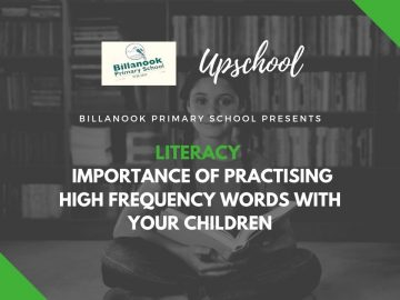 Literacy: Importance of Practising High Frequency Words with Your Children