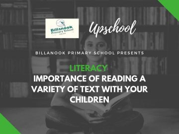 Literacy: Importance of Reading a Variety of Text with Your Children