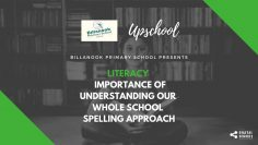 Literacy: Importance of Understanding Our Whole School Spelling Approach
