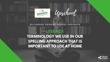 Literacy: Terminology We Use in Our Spelling Approach That Is Important to Use at Home