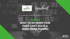 Literacy: What to Do When Your Child Can't Solve a Word When Reading