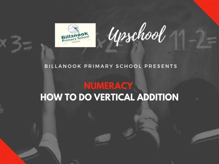 Numeracy: How to Do Vertical Addition