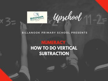 Numeracy: How to Do Vertical Subtraction