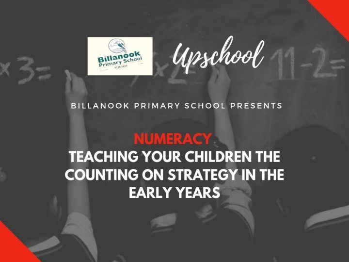 Numeracy: Teaching Your Children the Counting on Strategy in the Early Years