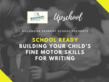 School Ready: Building Your Child's Fine Motor Skills for Writing