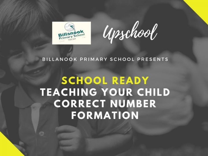 School Ready: Teaching Your Child Correct Number Formation